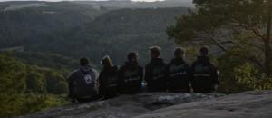 Hike der Sippe Krokodil an der luxemburgischen Grenze